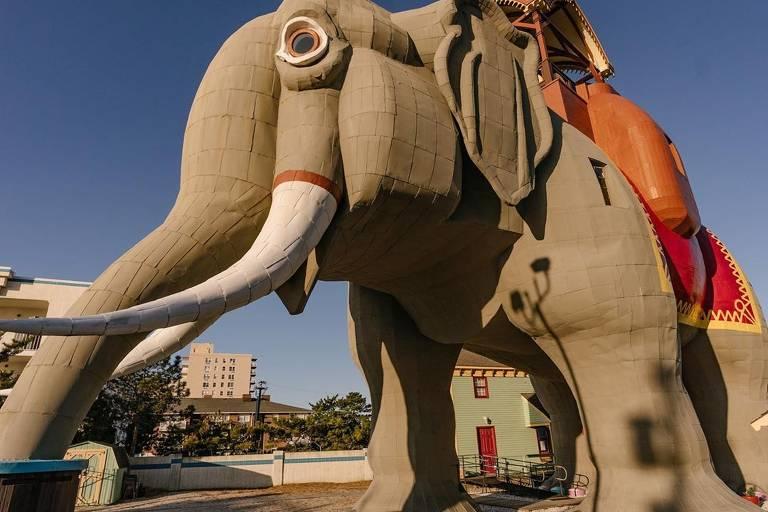 """Casa """"Lucy the Elephant"""" em Margate"""