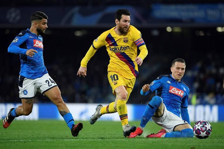 A figura poderosa de Maradona deve constranger Lionel Messi