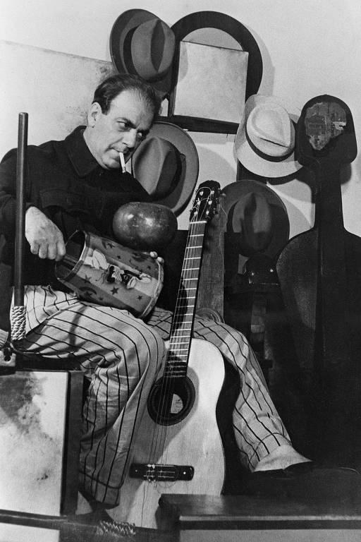O maestro e compositor Heitor Villa-Lobos