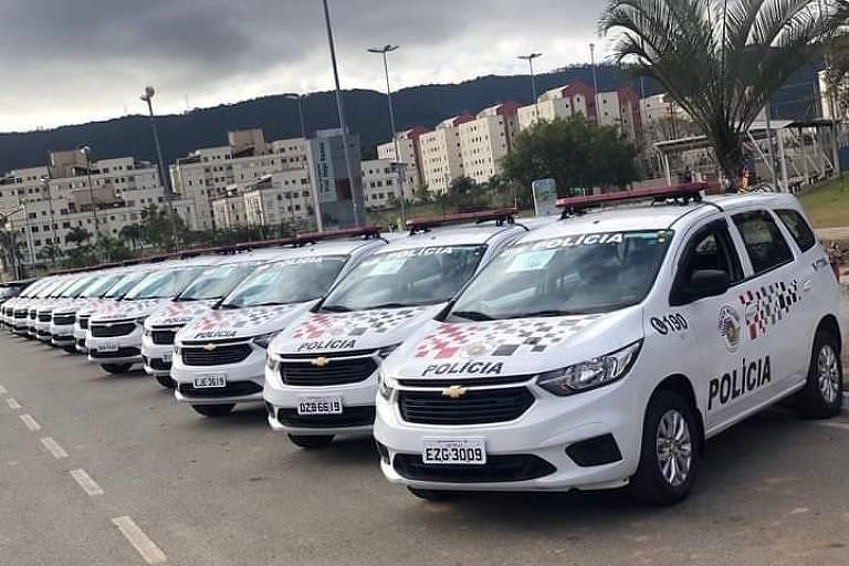 O Governo de São Paulo decidiu mudar a identidade visual dos veículos utilizados pela Polícia Militar