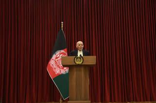 AFGANISTAN-KABUL-PRESIDENTE-TALIBAN-CONDICION PREVIA-RECHAZO