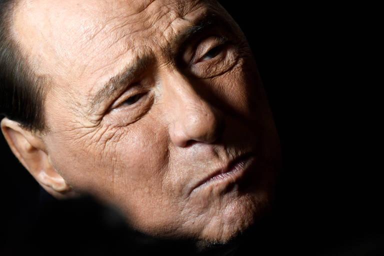 Silvio Berlusconi, ex-primeiro ministro da Itália e ex-dono do Milan