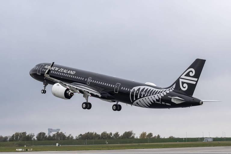 Aérea neozelandesa planeja beliches para classe econômica em voos de longa duração