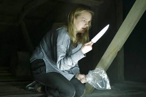 Elisabeth Moss em 'O Homem Invisível'