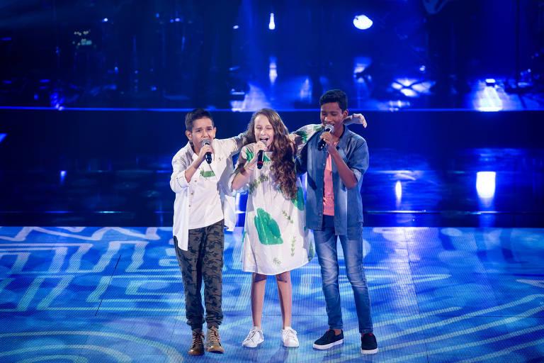 F5 Televisao The Voice Kids Confira Quem Avancou Para A Semifinal Da Competicao 27 09 2020