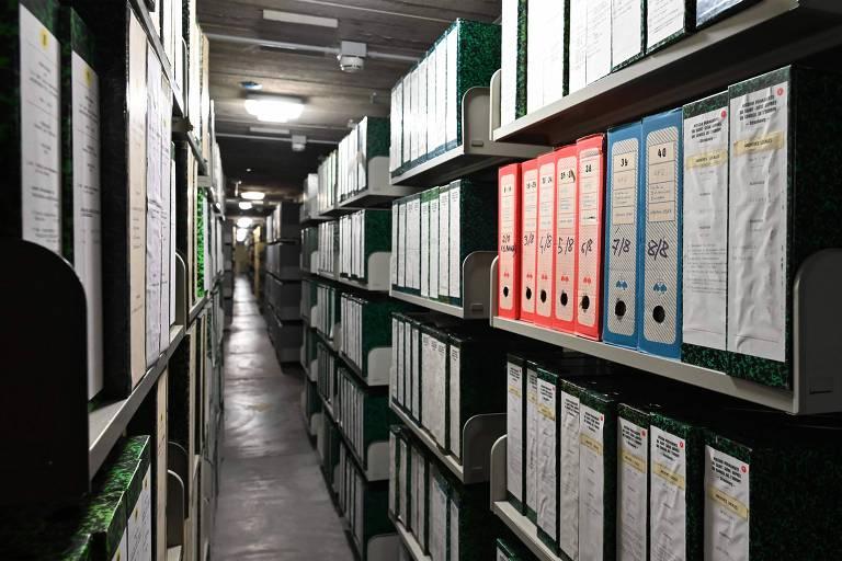 O arquivo secreto do Vaticano, onde estão os documentos relativos ao pontificado de Pio 12 durante o nazismo
