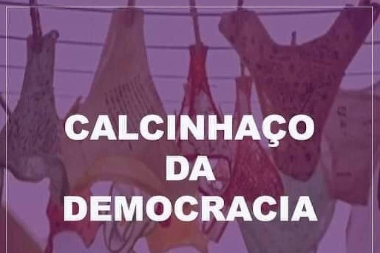 Imagem distribuída em redes sociais para convocar para o protesto em Mato Grosso do Sul