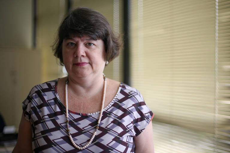 A sub-procuradora-geral da República Luiza Cristina Fonseca Frischeisen, chefe da Câmara Criminal da PGR