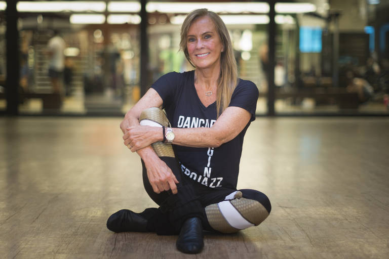 Como a dança ajuda a mantes a forma e melhorar o condicionamento físico. Helo Pinheiro e Carol Cerqueira na BodyTech do Shopping Eldorado. A prof. Regina Calil