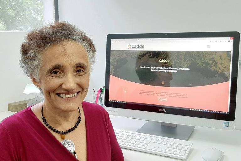 Ester Sabino - Professora do Departamento de Moléstias Infecciosas da Faculdade de Medicina da USP, integrou a equipe de cientistas brasileiros que sequenciou o genoma do coronavírus