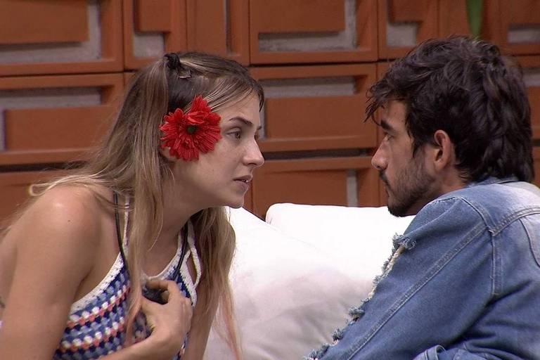 Guilherme conversa com Gabi no BBB 20