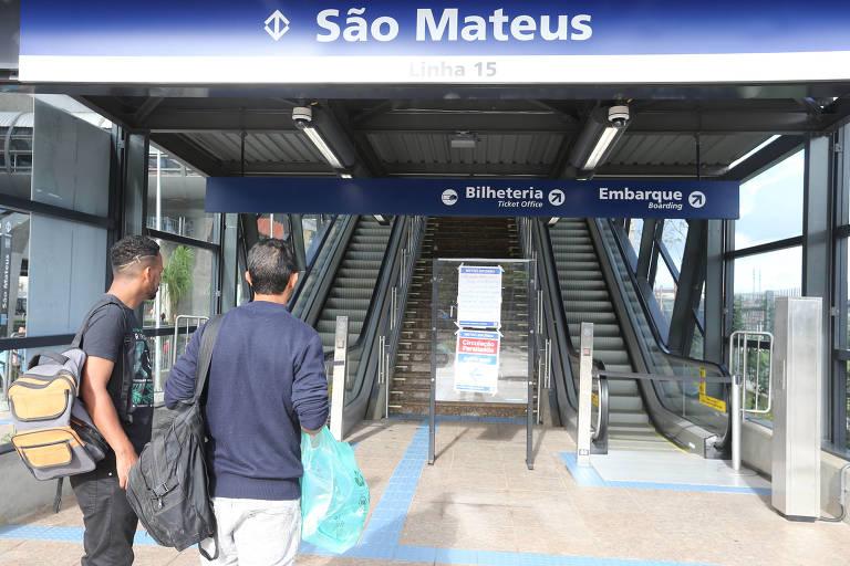 Monotrilho de São Paulo continuará fechado nesta terça-feira