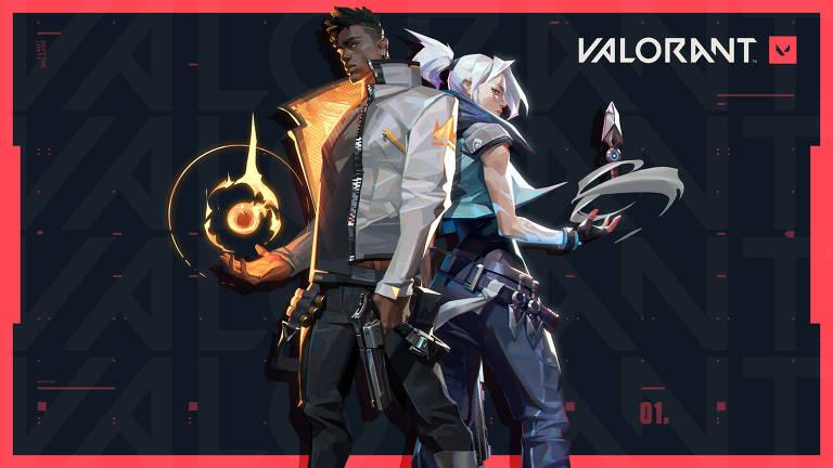 Imagens do Game 'Valorant', da Riot