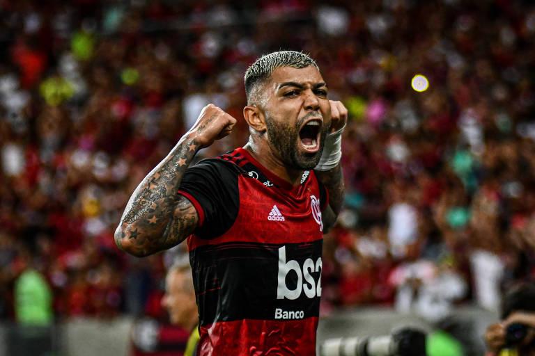 O atacante do Flamengo Gabigol