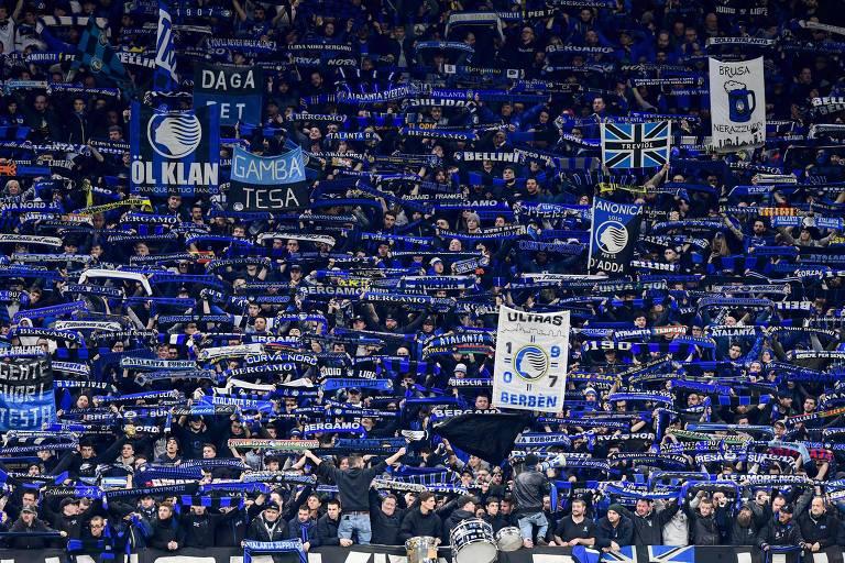 A partida entre Atalanta e Valencia, em Milão, pela Liga dos Campeões, teve participação decisiva na disseminação do coronavírus na Itália e na Espanha