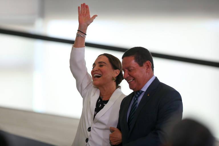 Confira a posse de Regina Duarte na Secretaria Especial da Cultura