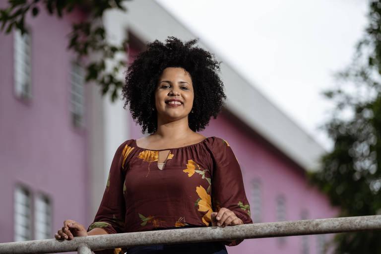 A sanitarista Monique Rodrigues, do Rio, que defende o feminismo cristão