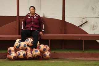 Entrevista com Magali, técnica de futebol