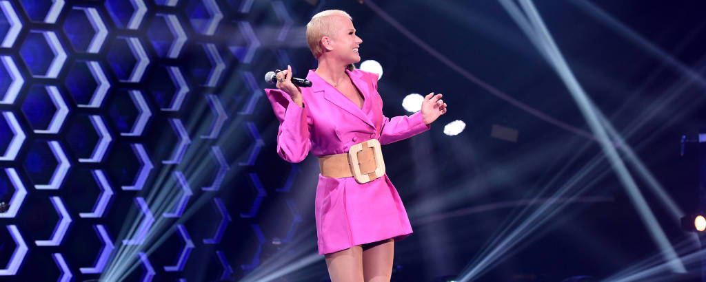 Xuxa no The Four Brasil 2020