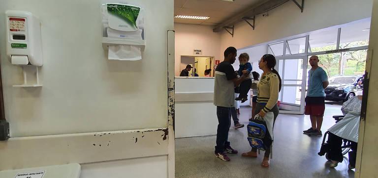 Nem todos os serviços públicos de saúde de São Paulo têm álcool gel e sabonete
