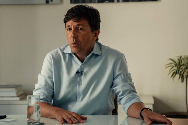João Amoêdo, candidato à Presidência em 2018 pelo partido Novo