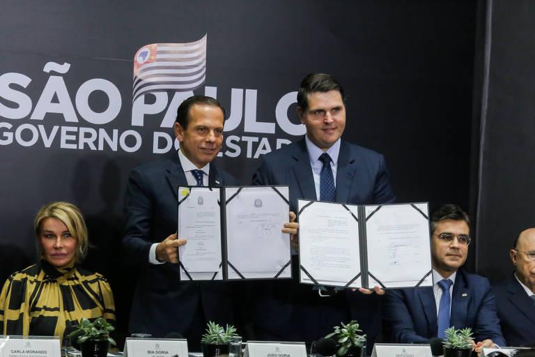 Doria anuncia reforma da Previdência de SP