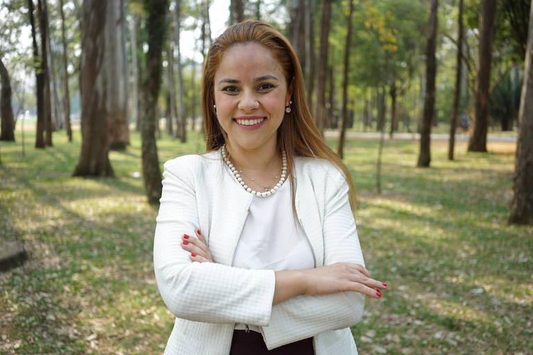 A vereadora Janaina Lima (Novo)