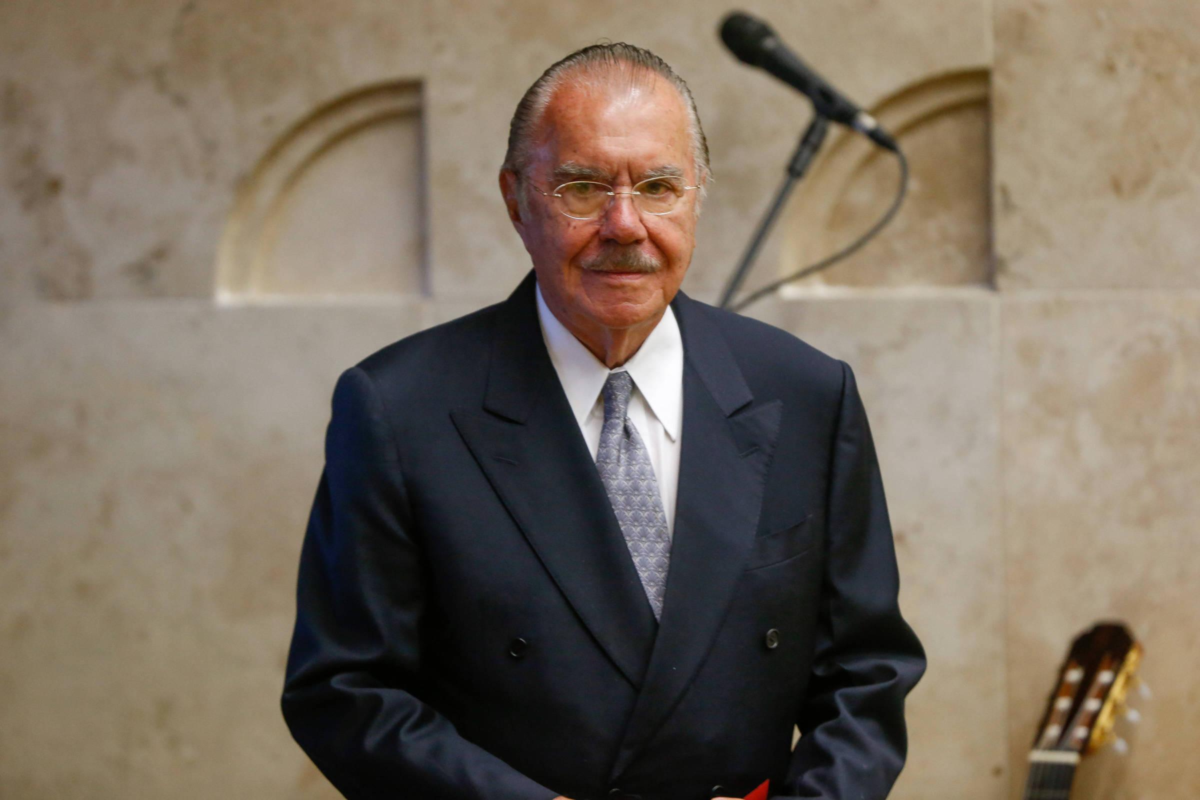 Ex-presidente | Sarney chega aos 90 com autobiografia de 800 páginas e festa
