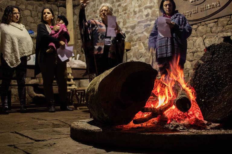 Artistas participam de acampamento de composição musical para mulheres em Júlio de Castilhos (RS)