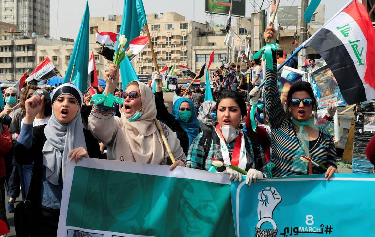 Manifestações do Dia Internacional da Mulher pelo mundo