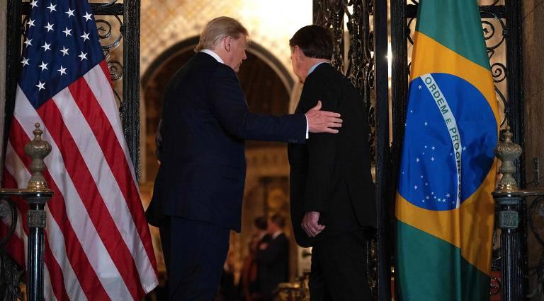 O Planalto excluiu a Folha da cobertura do jantar. Dos veículos brasileiros que possuem correspondentes nos EUA, somente a Folha ficou de fora do grupo.
