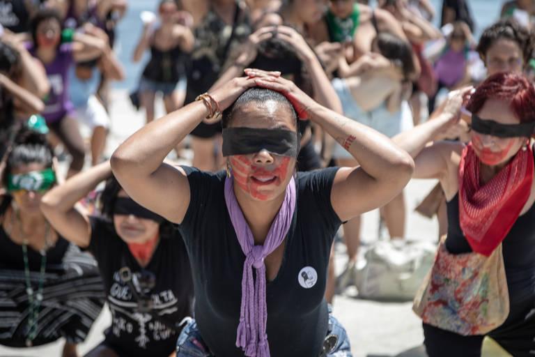 Manifestações no Dia Internacional da Mulher por todo o Brasil
