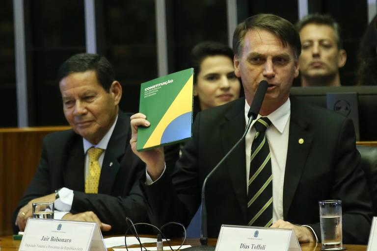 Constituição tem 118 pontos sem regras, e Bolsonaro tenta aproveitar brechas
