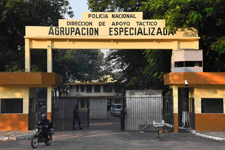 A penitenciária onde Ronaldinho está preso em Assunção, no Paraguai