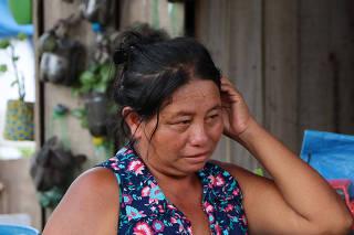 4º dia de reintegração de posse da invasão Monte Horebe em Manaus.