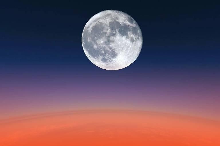 Super Lua Cheia acontece nesta segunda-feira (9)