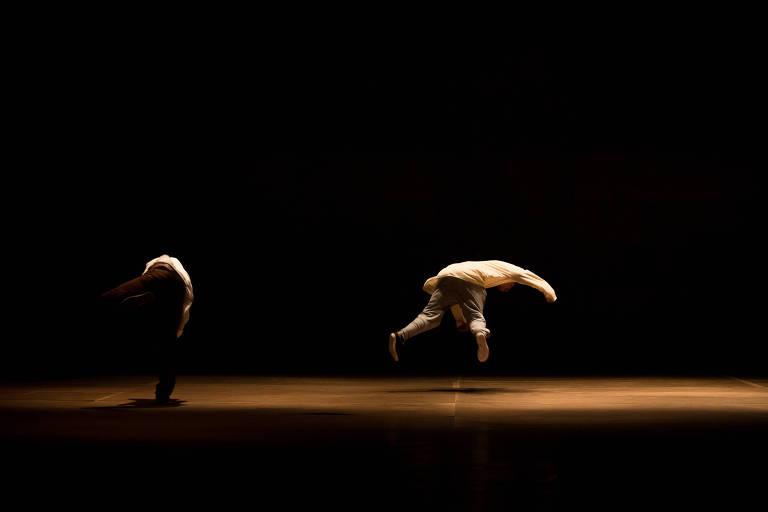 Ensaio de espetáculo de Bruno Beltrao e seu Grupo de Rua, que estreou no Brasil no Festival Panorama, no Rio de Janeiro, em 2013
