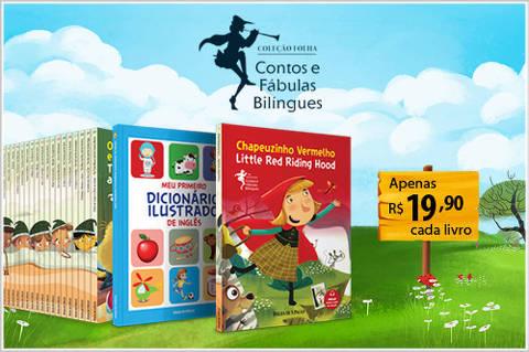 coleção contos bilingues