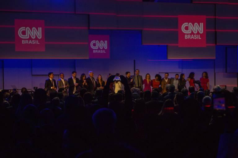 Confira fotos do evento de lançamento oficial da CNN Brasil