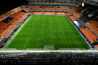 Champions League - Round of 16 Second Leg - Valencia v Atalanta