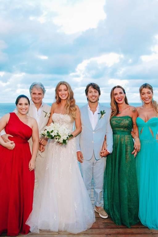 Veja fotos do casamento de Marcella Minelli e Marcelo Bezerra
