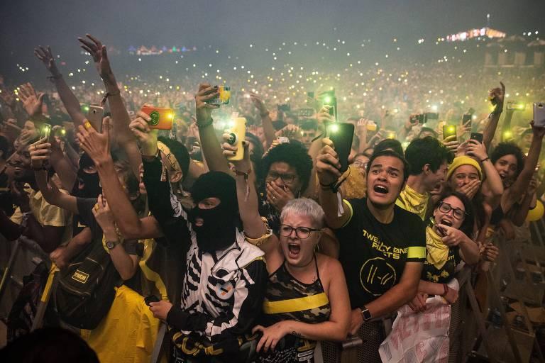 Coronavírus: Cresce busca no Google por informações sobre cancelamento do Lollapalooza