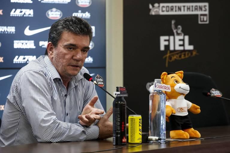 Andrés Sanchez é o Eurico Miranda do Corinthians