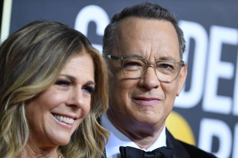Tom Hanks e a mulher, Rita