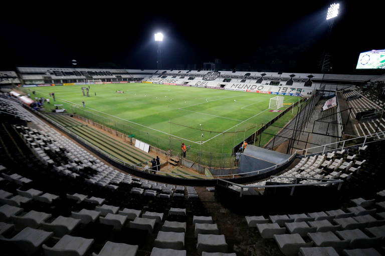 Olimpia e Defensa y Justicia jogaram pela Libertadores, no Paraguai, com portões fechados à torcida devido ao surto do coronavírus