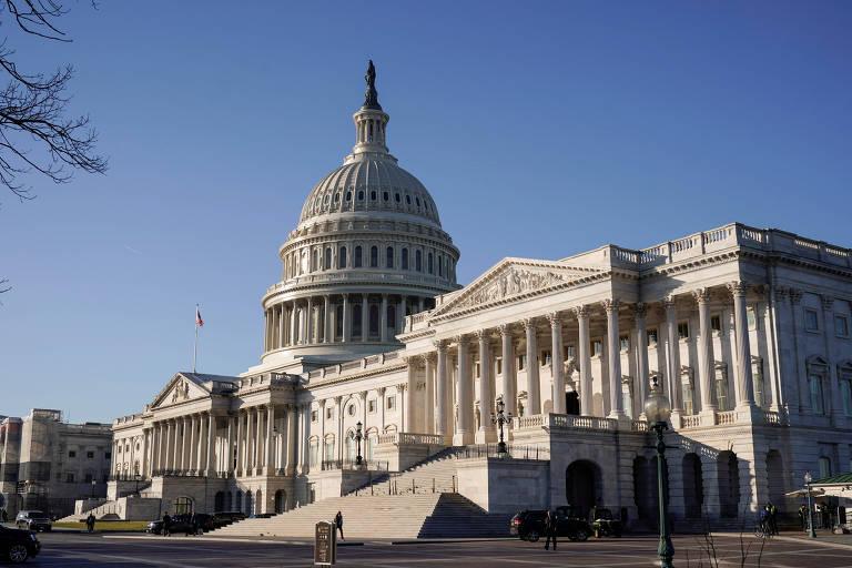 Capitólio dos Estados Unidos, sede do poder legislativo americano