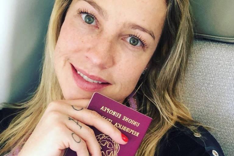 Luana Piovani diz que está 'presa' em Lisboa e que não vai celebrar aniversário do filho em NY