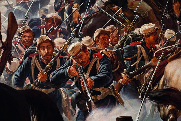 A Batalha do Avaí (1877)