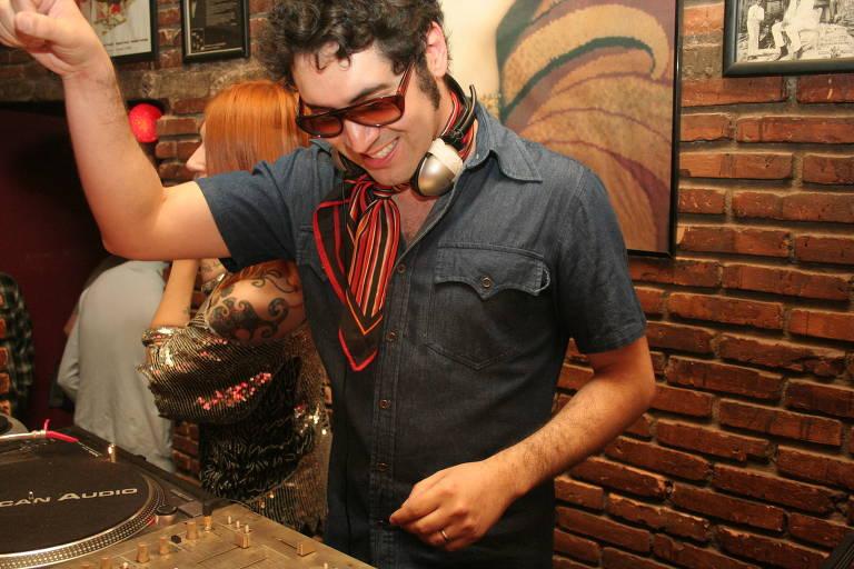 O DJ Cláudio Medusa