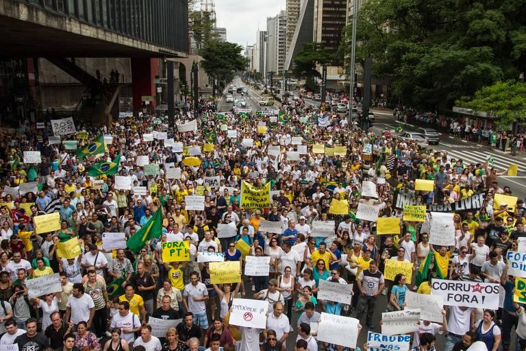 Relembre protestos na Paulista desde o segundo mandato de Dilma